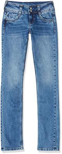Pepe Jeans Damen Gen Straight Jeans, Blau (000Denim 000), W30/L34 (Herstellergröße: 30)