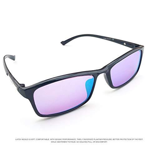 ZUEN Farbenblind Brille Rot-Grün Farbenblind Korrekturgläser Spektrale Farbsehen Brille Brille Farbenblind Farbe Schwäche