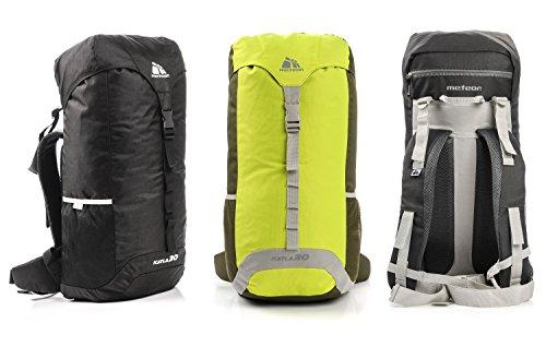 meteor® KATLA 30L Top Mountain Rucksack für Erwachsene & Junge Berg Trekkingrucksacke, Camping Reiserucksack, Outdoor Wanderrucksacke, Leichtgewicht: 500g