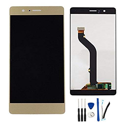 SOMEFUN LCD + TP for Huawei P9 Lite / G9 lite VNS-L21 / L22 / L23 / L31 / L53 Display Touch Screen digitizer Glass Assembly,Can't Work on p9 lite 2017' (Gold)