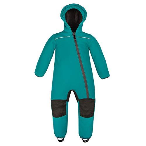 anndora Schneeoverall für Kinder Softshell Gr. 86 Winddicht Wasserfest Atmungsaktiv