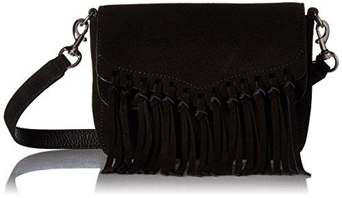 Rebecca Minkoff Rapture Petit sac à bandoulière - Noir - Noir, Taille unique