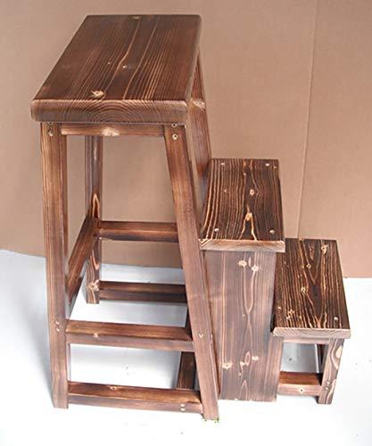 Taburete de Escalera Plegable de 3 escalones Taburete de Escalera multifunción Taburete de Escalera...