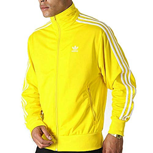adidas Originals Superstar - Camiseta deportiva para hombre - Amarillo - XX-Large