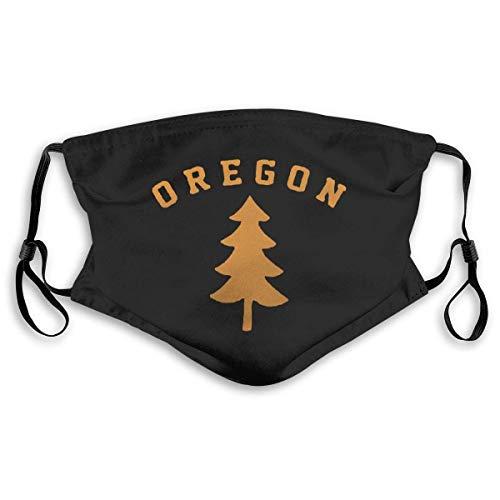 Oregon Douglas Pine Bandanas Gesicht Schal für Staub im Freien Sport