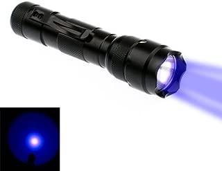 BESTSUN WF-502B Ultraviolet LED Flashlight, UV Black Light Flashlight, Powerful Ultravilot Urine Detector for dogs, Pet Stain Detector, Dog Urine Remover, Bed Bug Detector (Battery not Included)