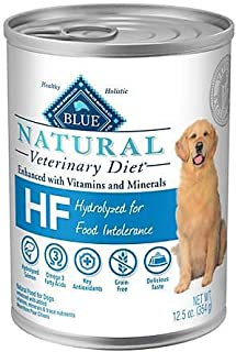 Blue Natural Veterinary Diet HF Hydrolyzed for Food Intolerance Grain-Free Canned Dog Food 6/12.5 oz
