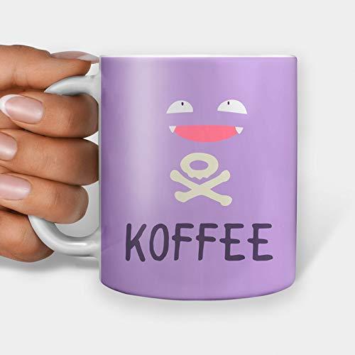 Koffee Taza de regalo, divertida taza de café, taza de té con meme de Internet (11 oz)