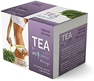 Lipo Express Moringa Tea Weight Loss Tea Detox, Express Appetite Suppressant, 30 Day Tea-tox, with Potent Traditional 100% Naturals Herbs, (30)