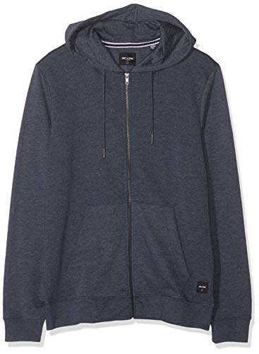 ONLY & SONS NOS Herren ONSWINSTON Zip Hoodie NOOS Kapuzenpullover, Blau (Dress Blues Dress Blues), X-Large (Herstellergröße: XL)