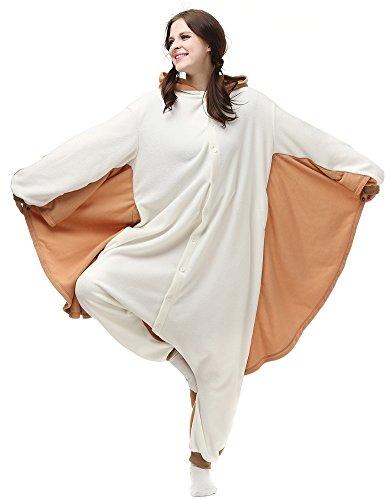 Unisex Adult Pajamas Plush Onesie Animal Cosplay Halloween Costume Gifts