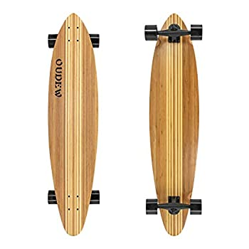 41-Inch Longboard ,Artisan Maple Skateboard Professional Complete Cruiser for Cruising Carving Free-Style and Downhill