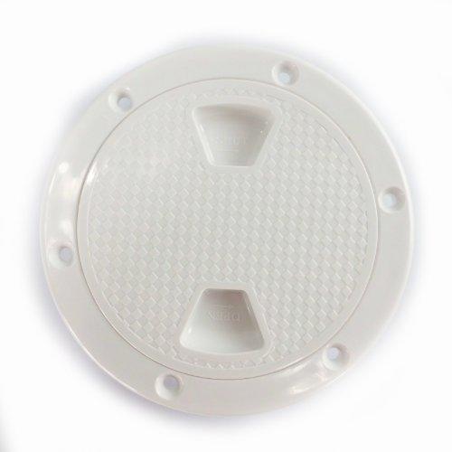 SEAFLO 4' Boat Round Non Slip Inspection Hatch w/ Detachable Cover