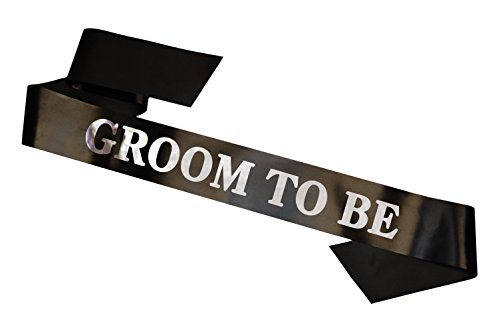 Groom to Be Sash for Stag Night Bachelor Party