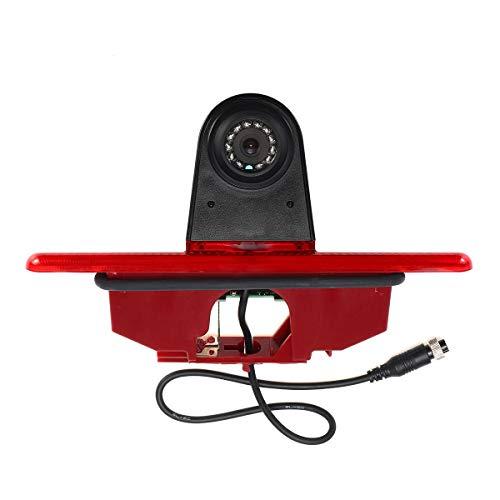 Telecamera di retromarcia HD 720p, luce di stop, telecamera di ricambio per visione notturna, NTSC 700TV, linee per Fiat Scudo, Citroen Jumpy, Peugeot Expert, Toyota Proace 2007-2016