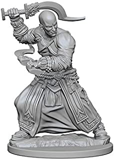 NECA Deep Cuts Unpainted Minis: Human Male Monk