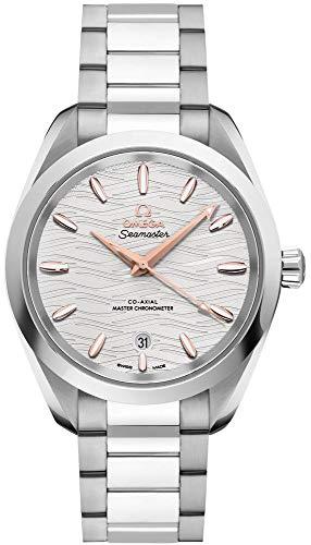 Omega Seamaster Aqua Terra Reloj automático Opaline esfera plateada para señoras 220.10.38.20.02.002