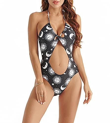 KTDUU Señoras Bikini, 2021 Nuevo Nuevo Playa DE STOR DE SWIMES DE One Pieza Playa sin Tirantes de Trajes de baño Sexy, el representante de Regalos más Adecuado para la ESP XL