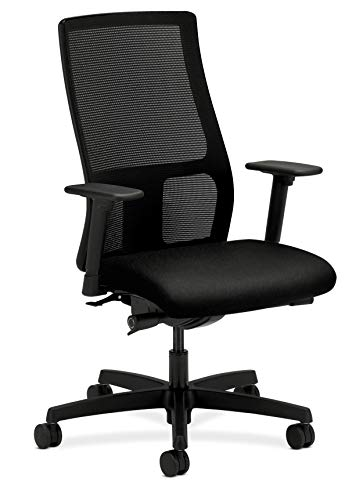 HON Ignition Series Mid-Back Work Chair - Mesh Computer Chair for Office Desk,...