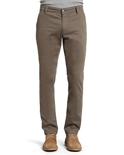 Mavi Johnny Dusty Herren-Jeans aus Twill - Grün - 35W / 36L