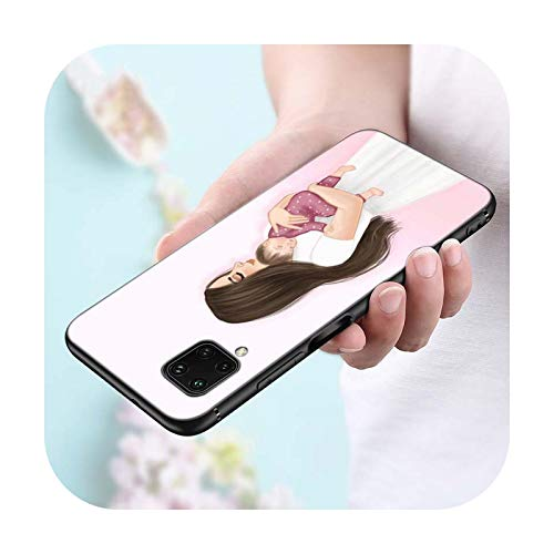 Funda de silicona para Huawei P Smart 2021 2020 Z S Plus Mate 30 20 10 Pro Lite 2019 2018 estilo funda para teléfono Mate 30