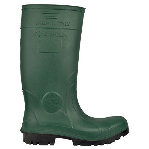 Cofra 00010–051.w37Talla 37O4Ci SRC–Zapatillas de Seguridad FO Nueva Hunter–Verde