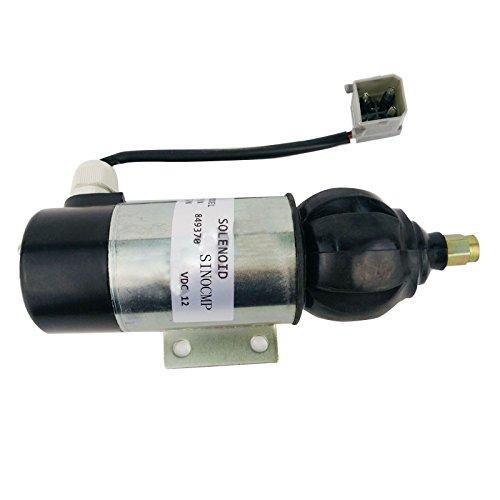 SINOCMP CP-U0337 Solénoïde d'arrêt pour carburant moteur 24 V pour Volvo 2006 3008 3012