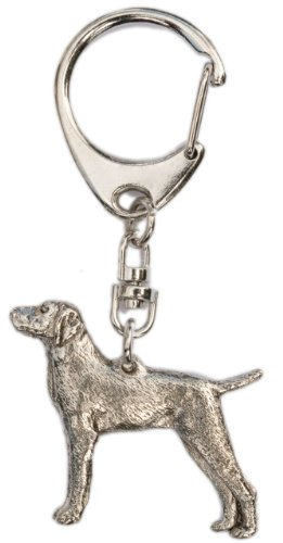 Hungarian Vizsla Made in U.K Artistic Style Dog Key Ring Collection