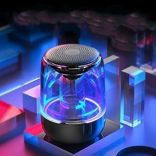 POLHUM Bluetooth Speaker Alarm Clock Wireless Bluetooth Speaker With Led Colorful Lights Bestseller Bluetooth Speaker New