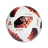 adidas World Cup Knock Out J350 Ballon de Football pour Homme Blanc/Rouge/Noir Taille 5