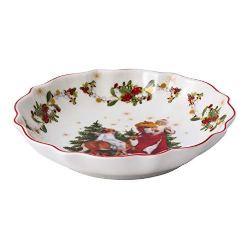Villeroy & Boch - Bol annuel annuel de Noël 2020, petit bol en porcelaine premium, avec poinçon doré, coloré, 16 x 16 cm