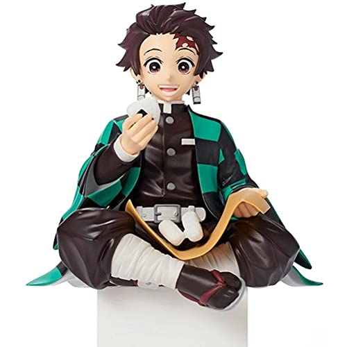 Emeili Figura de Anime Demon Slayer Estatua Figuras Kimetsu No Yaiba Caja Fuerte Exquisita Kamado Tanjiro Agatsuma Zenitsu Hashibira Inosuke Modelo de Muñeca Ornamentos Mejor Juguete