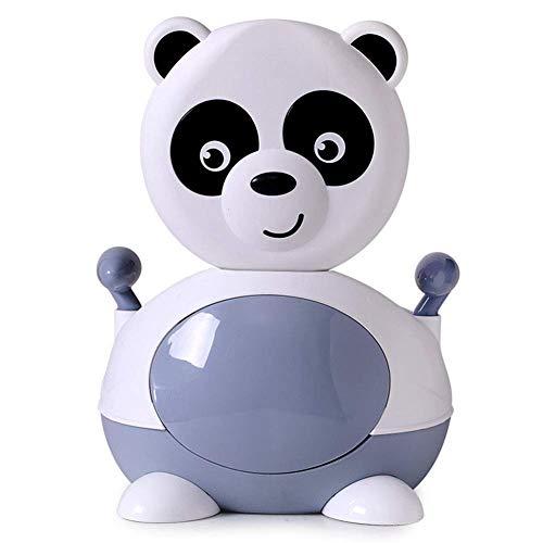 LLDKA Panda Leuke Bestand handvatten en Kinderen te reizen stoel Baby Baby Toiletbril met Comfortabel Draagbaar toilet