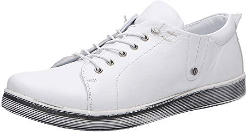 Andrea Conti 0347891001 - Damen Schuhe Freizeitschuhe - weiß, Größe:39 EU