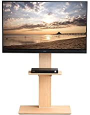 タンスのゲン テレビスタンド ロータイプ ハイタイプ キャスター付き 高さ調節 32型~65型対応 壁寄せ テレビ台 自立式 45400045