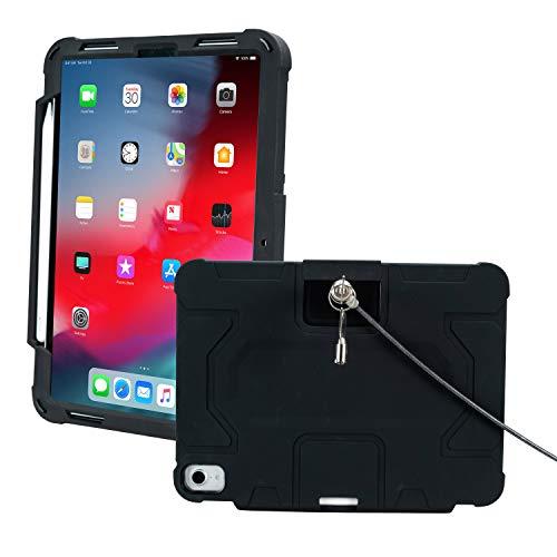 CTA Digital Capa de segurança robusta PAD-RSC11 para iPad Pro de 11 polegadas, preta
