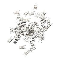 Hommy 銀色の金属製ヒューズクリップX50 5 x 20mm