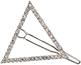 Harry D Koenig Hair Ornaments Hair Clip Triangle with Rhinestones (Pack of 12)