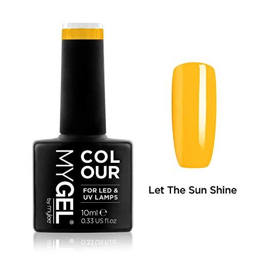 MyGel Nagellack von MYLEE (10ml) MG0070 - Let The Sun Shine UV/LED Nail Art Maniküre Pediküre für den professionellen Einsatz im Wohnzimmer und zu Hause - Langlebig und einfach anzuwenden