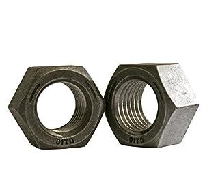 5 pk. 5//8-11 Plain Finish Nylon Machine Screw Hex Nuts