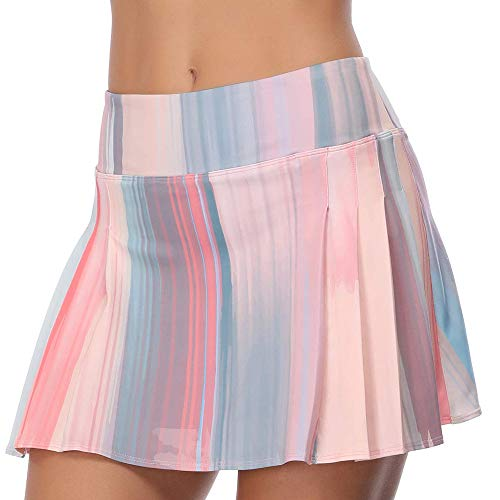 New Adult UV Yellow Pink spotted Tutu mini Skirt Party Dance Festival Lolita