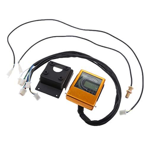 B Blesiya 1 Stück Tacho Kit Geschwindigkeitsmesser-Messgerät Verschleißteile Universal für Alle Motorrad meisten ATVs
