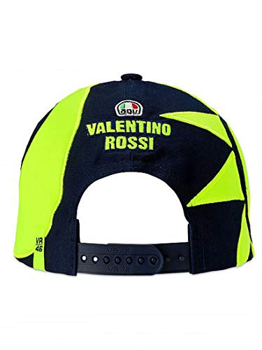 Vr46 Valentino Rossi R/éplica Suela E Luna Bolsa Casco