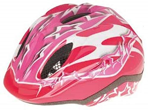 Levior Mädchen Fahrradhelm Primo, Rosa-Pink, 46-51 cm, 45010000