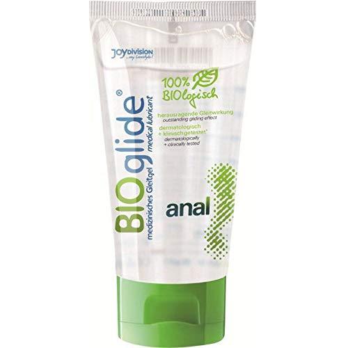 Joydivision BIOglide anal Biologisches Gleitmittel, 80 ml
