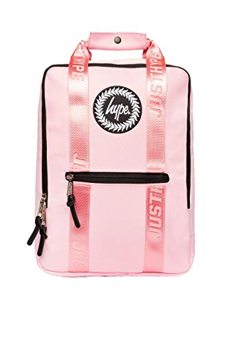 Hype Pink Taped Boxy Backpack