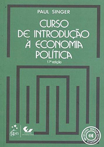 Curso de Introdução a Economia Política
