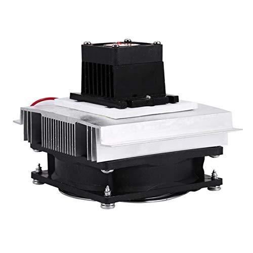 Kit de refrigeração de semicondutor eletrônico, sistema de refrigeração por refrigeração Peltier termoelétrico, tamanho compacto para entusiastas de eletrônicos Resfriamento de pequenos