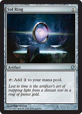 Magic The Gathering - Sol Ring (259/356) - Commander 2013