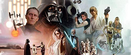 72Tdfc - Diy Malen Nach Zahlen-Star Wars Filmplakat - Vorgedruckt Leinwand-Ölgemälde Geschenk Für Erwachsene Kinder Kits Home Haus Dekor - 40 * 50 Cm